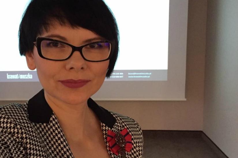 Dorota Szcześniak-Kosiorek radzi jak wyrazić wyglądem cele zawodowe