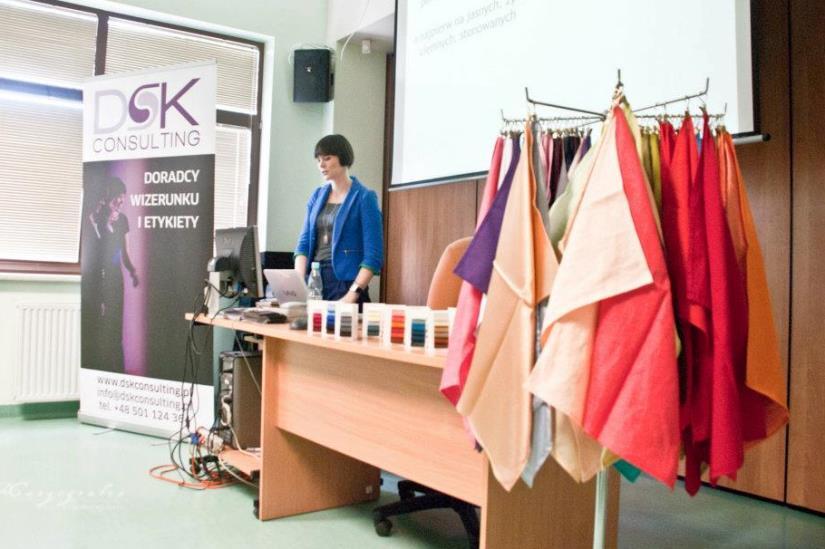 Dorota Szcześniak-Kosiorek - wykład o modzie i kolorach