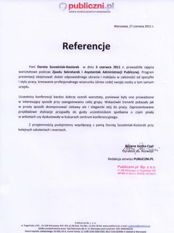 Sekretarki i asystentki- szkolenia DSK Consulting Publiczni.pl
