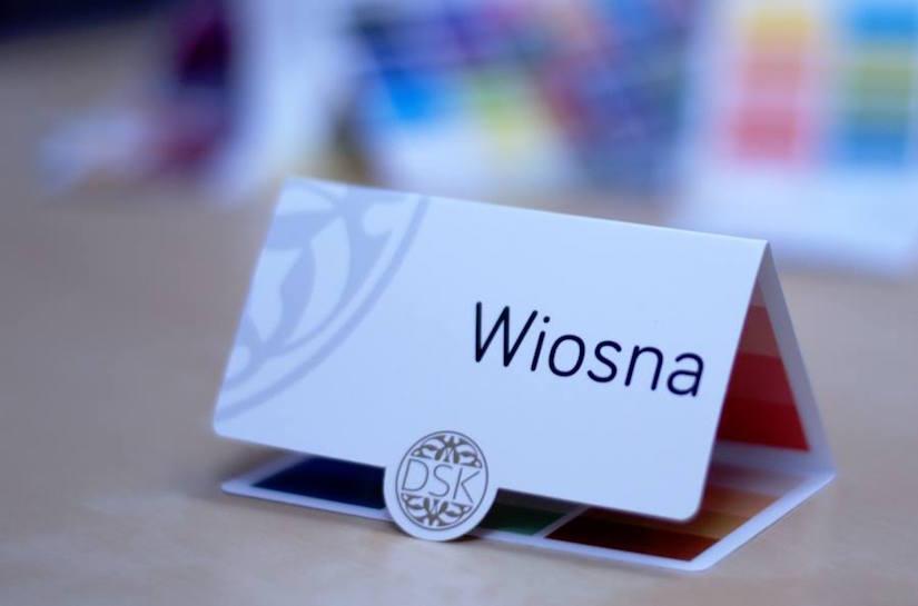 Pani wiosna - typy urody - analiza kolorystyczna dskstyle.pl