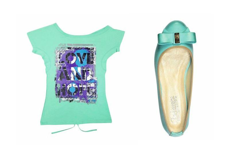 Kolor miętowy - styl i wizerunek - DSK Style