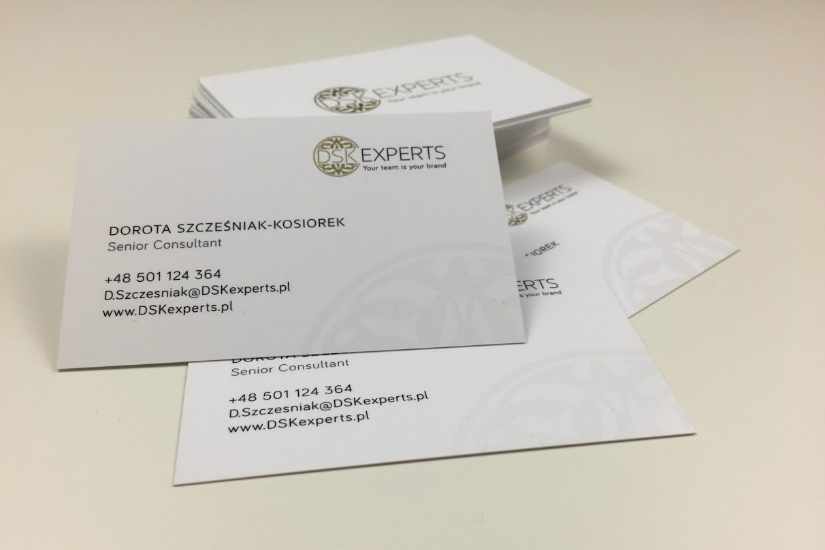 Etykieta biznesowa wizytówka Dorota Szcześniak-Kosiorek
